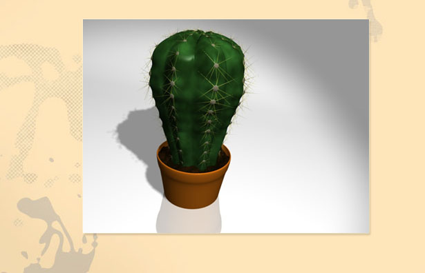 3ds illustration | Cactus