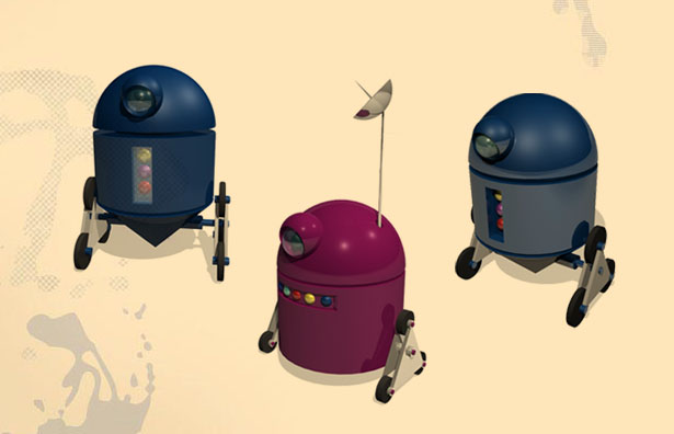 3d-robots illustration | Character