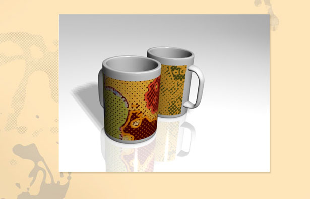 3ds illustration | Cups
